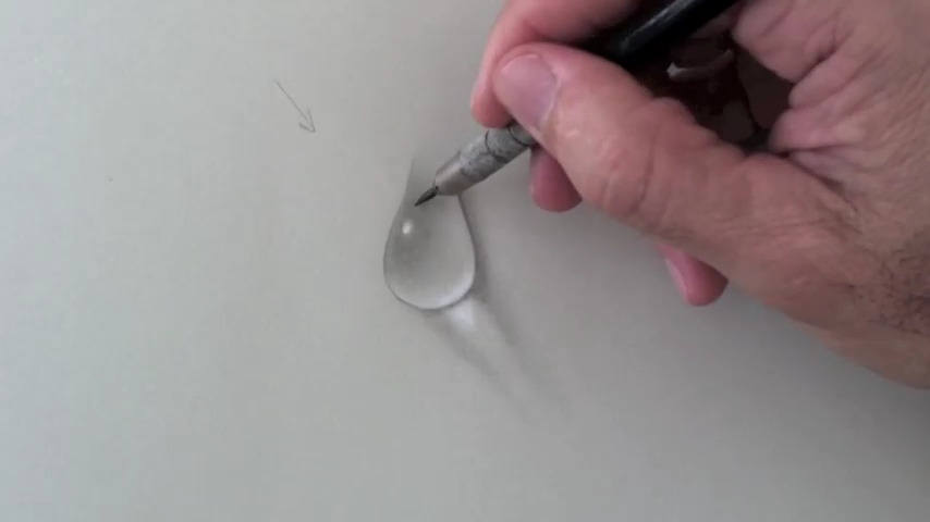 Here is a tutorial on drawing water droplets i came across some cool demonstrations teaching us how to handle the light and reflection in a water droplet